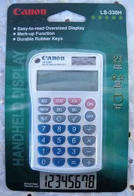 Calculadora Canon original nueva ref LS-330H