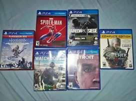 Vendo juegos ps4 por separado