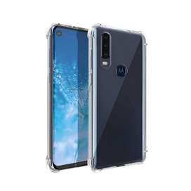 Estuche Protector Antichoque Alpha Motorola Moto G8