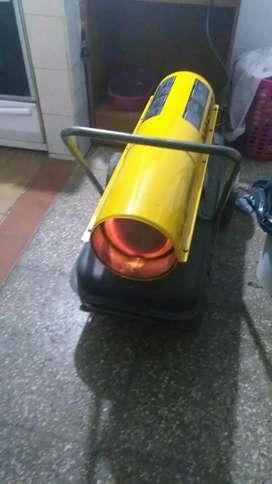 Caloventor turbina Cañon 37000 kcal 38 lt 220w kerosene o gasoil exelente estado