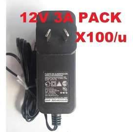 FUENTE SWITCHING 12V 3A X100 UNIDADES