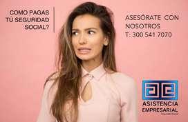 Trabajos de Auxiliar afiliaciones seguridad social-Empresa Legal