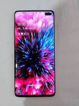 Se vende Samsung S10 Plus en excelentes condiciones incluye cargador de carga rapida,carcasa, protector