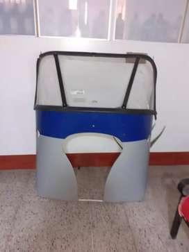 Parabrisa para mototaxi Honda NLP125