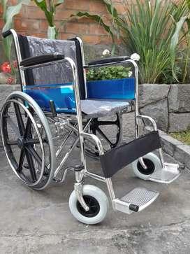 Silla de ruedas , doble refuerzo