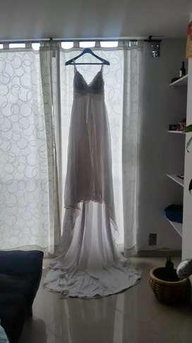 Vestido de novia usado alquiler