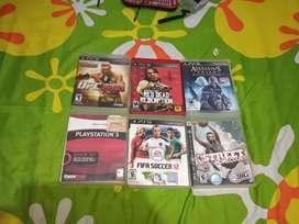 6 juegos de play station 3