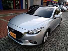 Mazda 3 Touring sedan modelo 2018, 2.0 cc, automatico, 2da serie, perfecto!