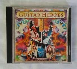 Eric clapton john mayall santana jimi hendrix guitar heroes cd original
