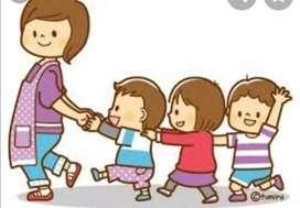 Taller de Andrea , se cuidan niños ,se nivelan con amor