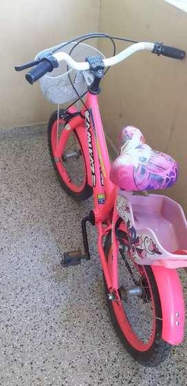 Vendo bicicleta de niña