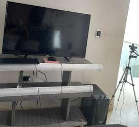 """VENDO TV RCA DE 40"""". CPU COMPUMAX CON FACTURA (2 meses de uso), camara logitech 930 .. teclado y mouse .."""