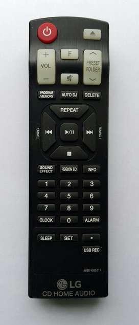 Control Remoto LG AKB74955311 para Cd Home Audio