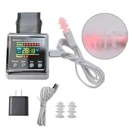 Reloj de terapia irradiación láser para diabétes fisioterapia reduce el colesterol