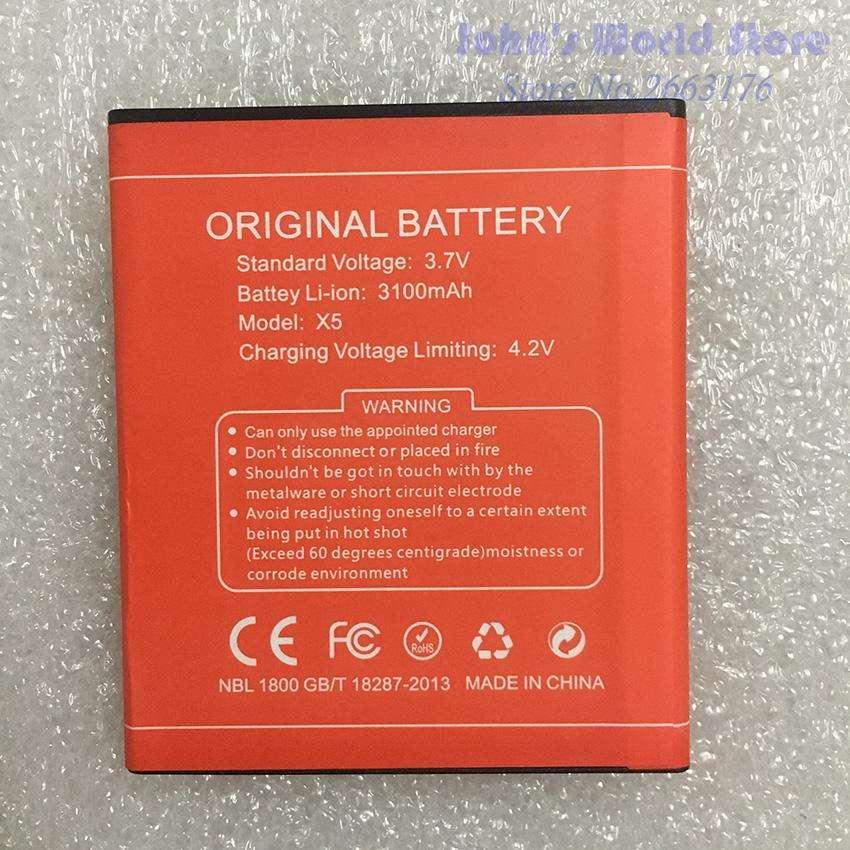 BATERIA DOOGEE X5 X5 PRO ORIGINAL 3100MAH NUEVAS ENTREGA INMEDIATA 0