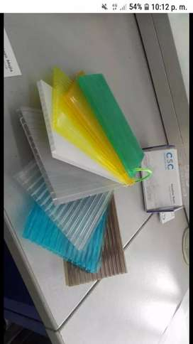 Vendo policarbonato 6mm x 2.10m x 5.80m
