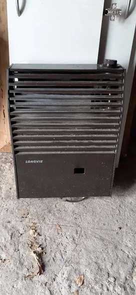 Vendo estufa usada longvie funcionando