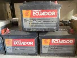 Bateria Ecuador 42 Full Equipo Silver