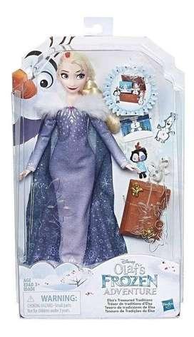 Muñeca Frozen Elsa Tesoro de Tradiciones 30 cm Original Hasbro