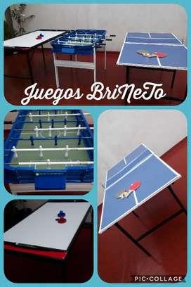 Alquiler De Juegos Metegol, Tejo Y Ping Pong