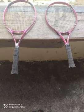 Se vende raquetas de tenis