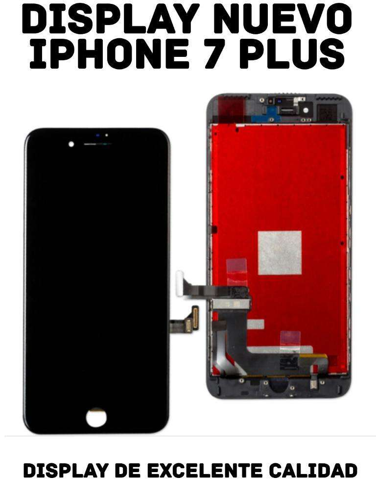 Display iPhone 7 Plus Instalado a Domicilio