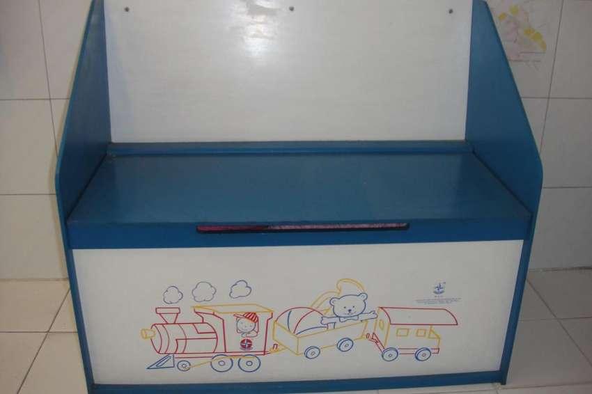 Cajón asiento para juguetes ideal reyes