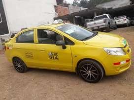 Se vende taxi con linea Cantón La Troncal