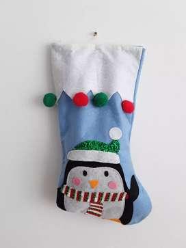 Linda bota navideña