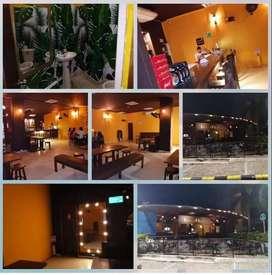 Restaurante bar acreditado