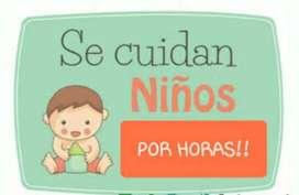 Se cuidan niños y bebés