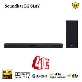 OFERTA! Soundbar LG SL5Y / Equipo de sonido / Barra de Sonido / Cine en casa