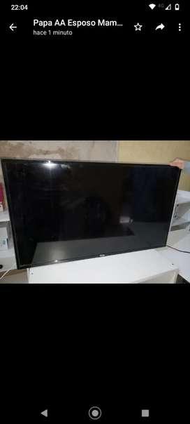 tcl 40 smart tv de talle pantalla rota se escucha sonido