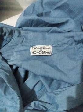 Camisa mujer talla L monogran