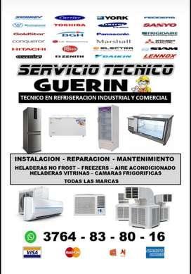Técnico matriculado en refrigeración comercial e industrial