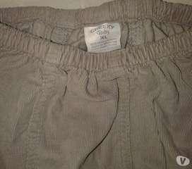 Pantalon Cheeky Baby 3-6m XL Cargo Corderoy Perfecto