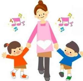 Cuido niños y/o acompaño adultos mayores en las tardes