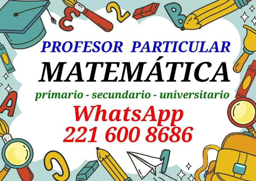Matemática clases particulares 0