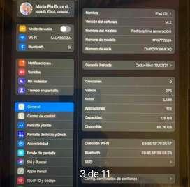 Ipad 7ma generacion 128 gb muy poco uso( venta x viaje)