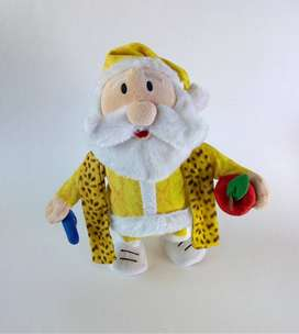 Santa Claus interactivo, peluche de coleccion navideño interactivo pen pineapple apple pen, santa Clause interactivo