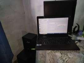 computadoras portátil y escritorio
