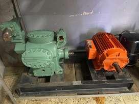 Compresor y bomba de 30HP PH3