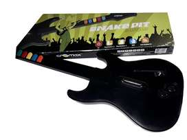 Guitarra Cromax De Guitar Hero Para Pc/ps2/ps3/wii
