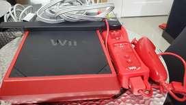 Nintendo wii roja/ negra
