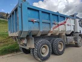 Volquete Scania