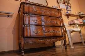 Juego de muebles de dormitorio completo, estilo provenzal.