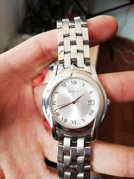 Usado, Reloj Gucci Para Dama Original Zafirado Como Nuevo segunda mano  Villa Mayor Oriental