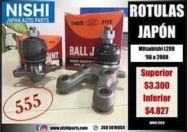 ROTULAS MITSUBISHI L200