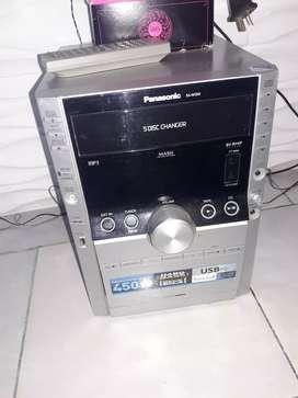Equipo Panasonic 5 CD
