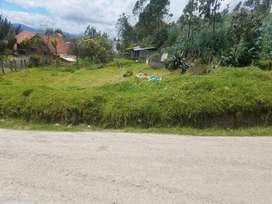 en venta lotes y sitios de terreno amplios en misicata baños con permisos de construcción para 3 viviendas cada sitio